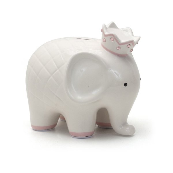View larger image of Coco Elephant-White/Pink