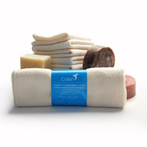 View larger image of Cotton Sherpa Wash Cloths