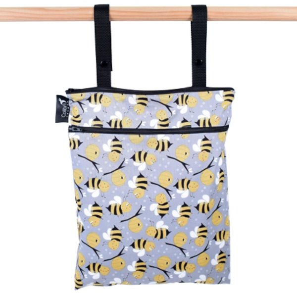 View larger image of Double Duty Wet Bags - Bumble Bee
