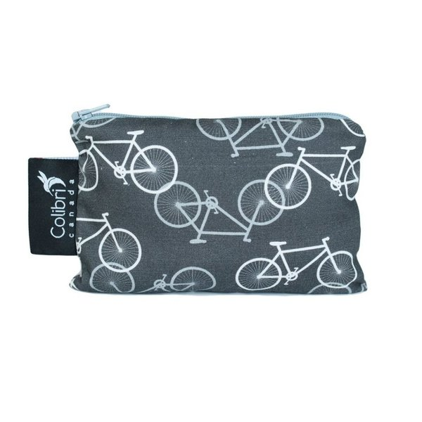 View larger image of Small Snack Bag - Bikes