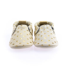 Confetti Gold Dots Soft Soles