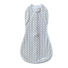 Convertible Woombie Swaddle - Grey Circles