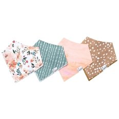 Bandana Bib Set - 4 Pack