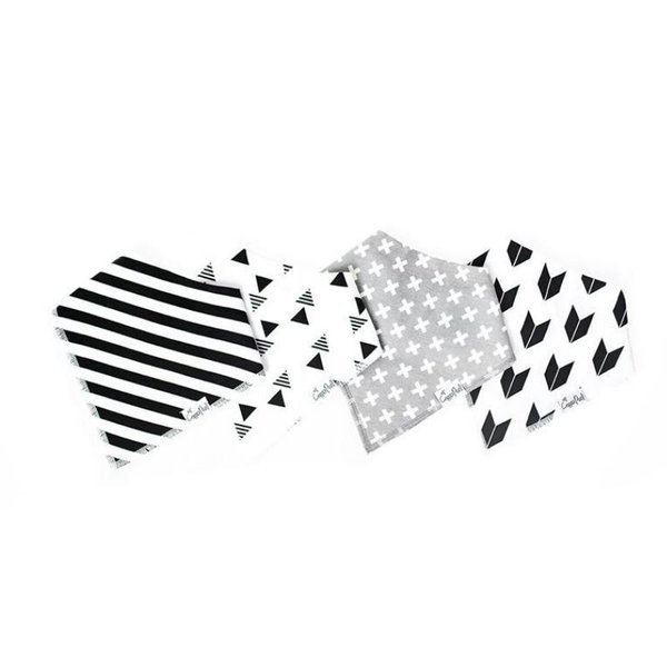 View larger image of Bandana Bib Sets - 4 Pack