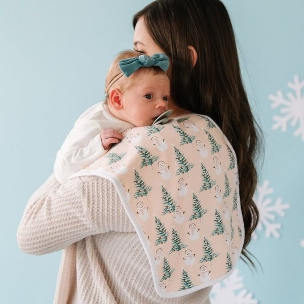 View larger image of Holiday Burp Cloth Sets