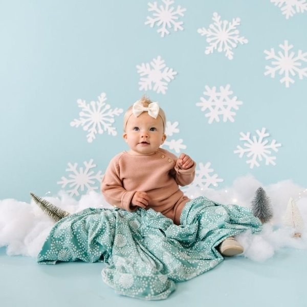 View larger image of Holiday Swaddle Blankets