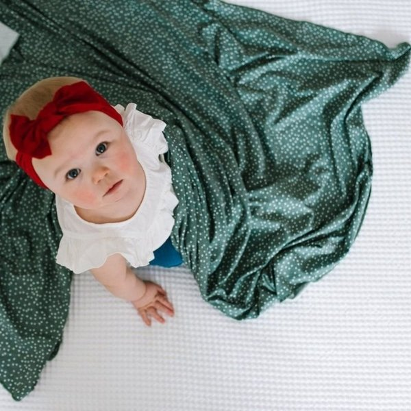 View larger image of Knit Swaddle Blanket