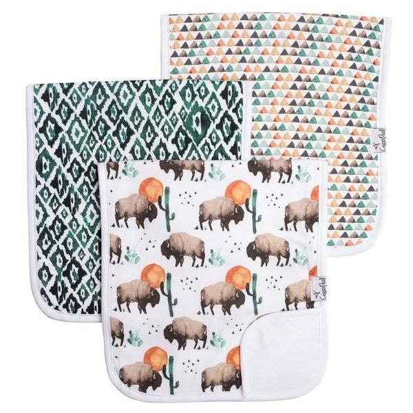 View larger image of Premium Burp Cloths - 3 Pack