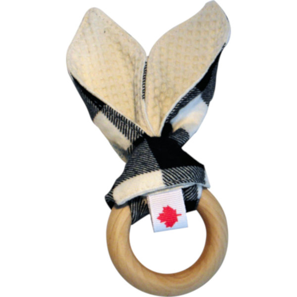 View larger image of Bunny Ear Maple Teething Ring