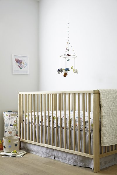 View larger image of Cotton Crib Skirt-Grey