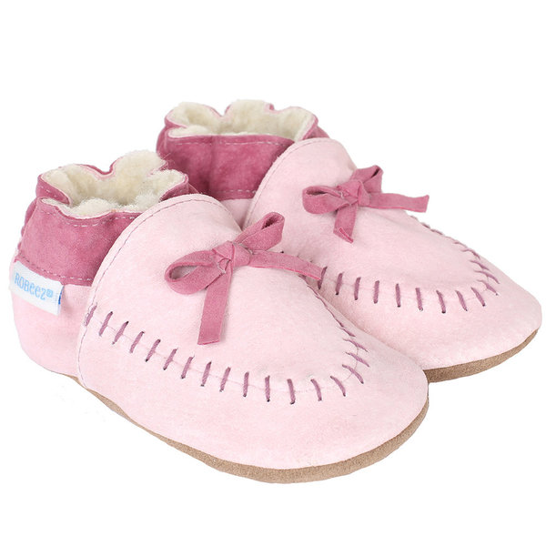 View larger image of Cozy Moccasin Soft Soles