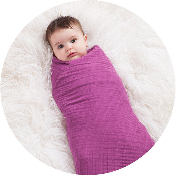 View larger image of Cozy Swaddle - Orchid Angel