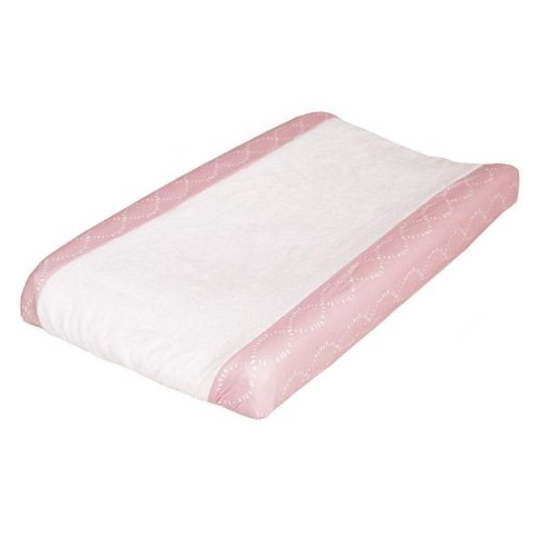 View larger image of Changing Pad Cover - Pink Braids