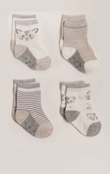 View larger image of Crew Socks - Unisex - 4 Pack