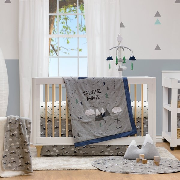 View larger image of Crib Fitted Sheet - Peaks