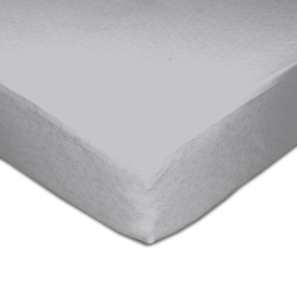 View larger image of Muslin Crib Fitted Sheet - Grey