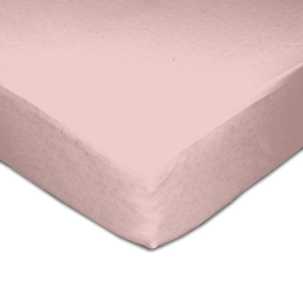View larger image of Muslin Crib Fitted Sheet - Pink