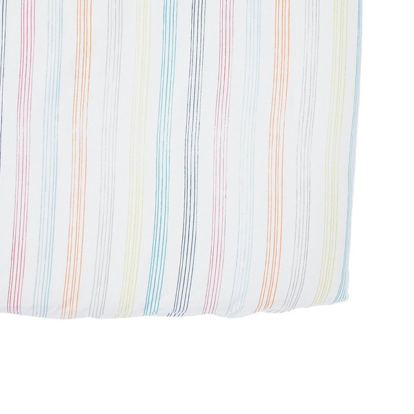 View larger image of Crib Sheet Rainbow Stripe