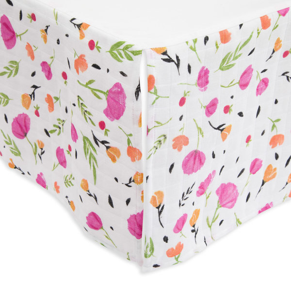 View larger image of Cotton Muslin Crib Skirt