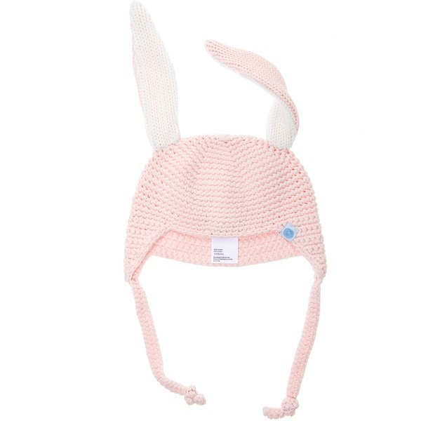 View larger image of Crochet Bunny Toque-Pink