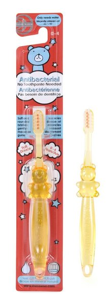 View larger image of Crystal Animal Antibacterial Toothbrush Yellow