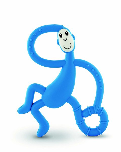View larger image of Dancing Monkey Teether - Blue