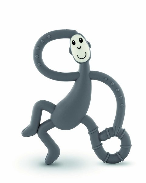 View larger image of Dancing Monkey Teether - Grey