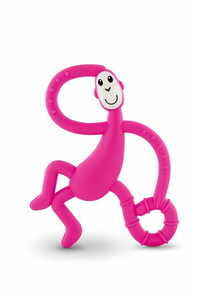 View larger image of Dancing Monkey Teether - Pink