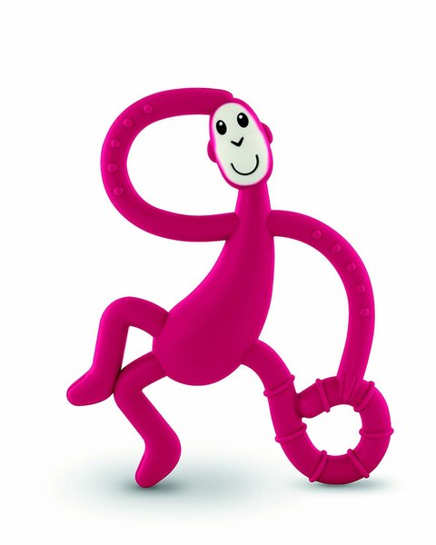 View larger image of Dancing Monkey Teether - Red
