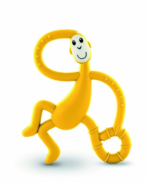 View larger image of Dancing Monkey Teether - Yellow