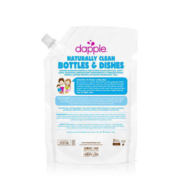 View larger image of Baby Bottle & Dish Liquid, Fragrance Free (Refill Pack) 1L