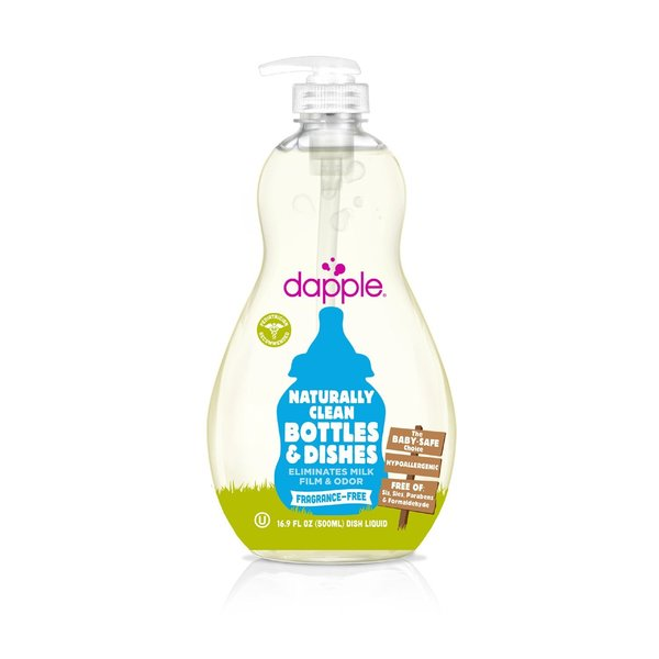 View larger image of Baby Bottle & Dish Liquid, Fragrance Free 500ml