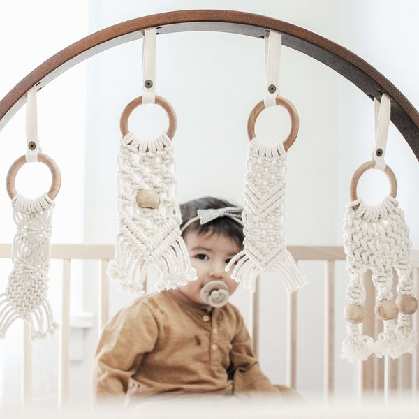 View larger image of Dark Macrame Play gym