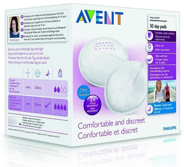 View larger image of Day Breast Pads 30ct