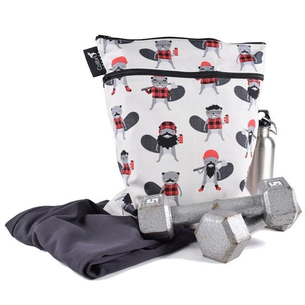 View larger image of Double Duty Wet Bag - Beavers