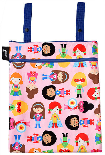 View larger image of Dbl DutyWetBag - Girl Heroes