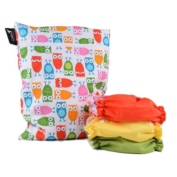 View larger image of Dbl DutyWetBag - Girl Owls