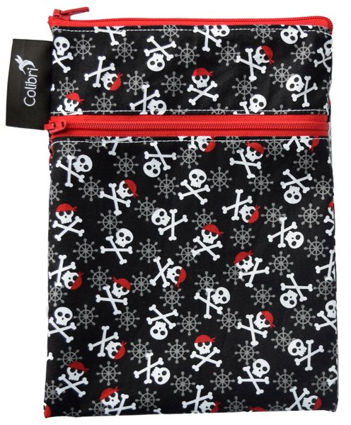 View larger image of Double Duty Wet Bag Mini - Skulls