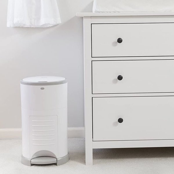 View larger image of Classic White Diaper Pail