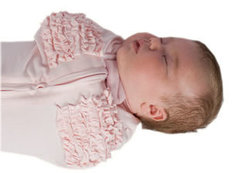 Deluxe Woombie Pink Ruffle