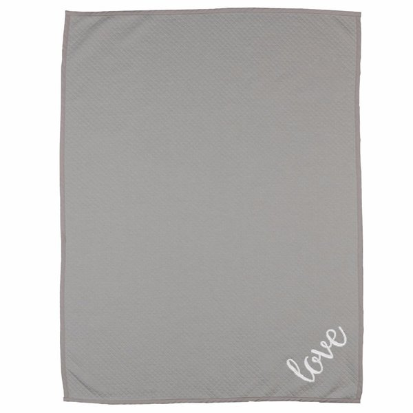 View larger image of Diamond Blanket-Grey Love