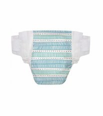 Honest Diapers - Teal Tribal