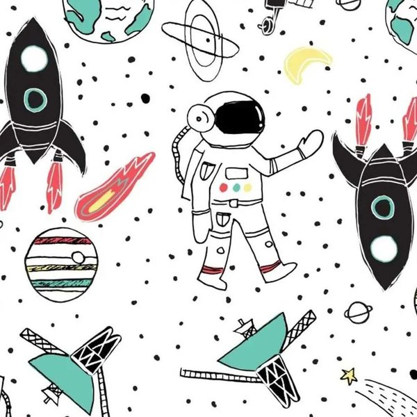 View larger image of Diapers - Space Travel