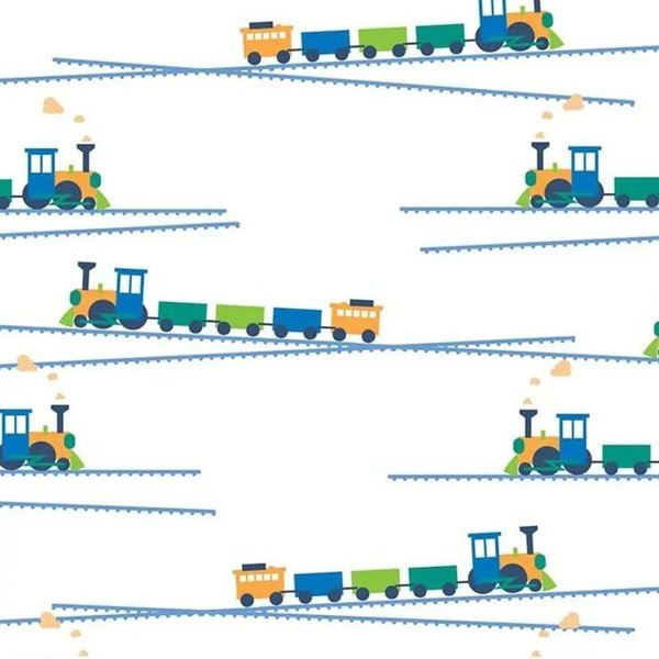 View larger image of Honest Diapers - Trains
