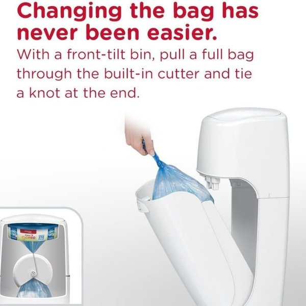 View larger image of Elite Diaper Pail - White