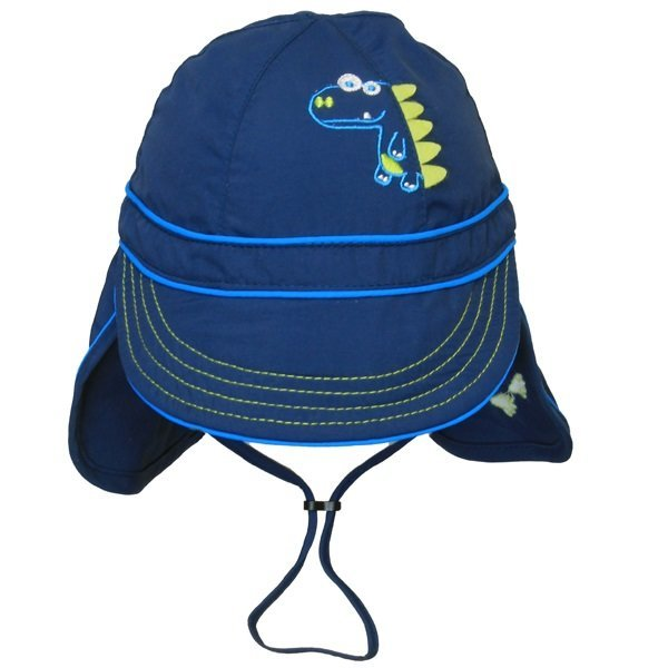 View larger image of Dino Flap Hat - Navy