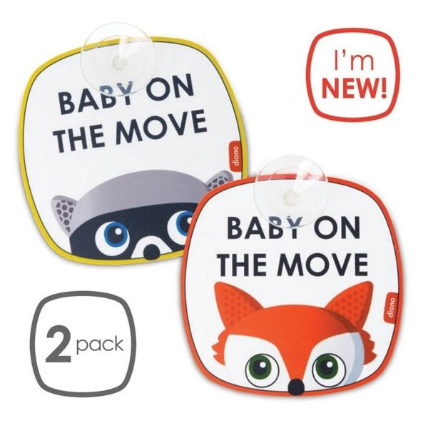 View larger image of Baby on the Move Safety Sign
