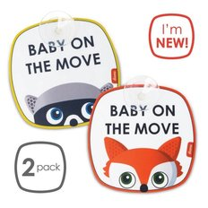 Baby on the Move Safety Sign