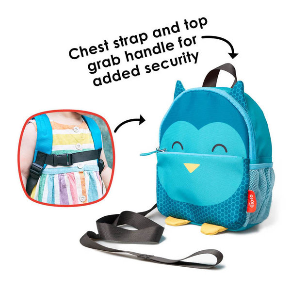 View larger image of Backpack with Detachable Safety Rein