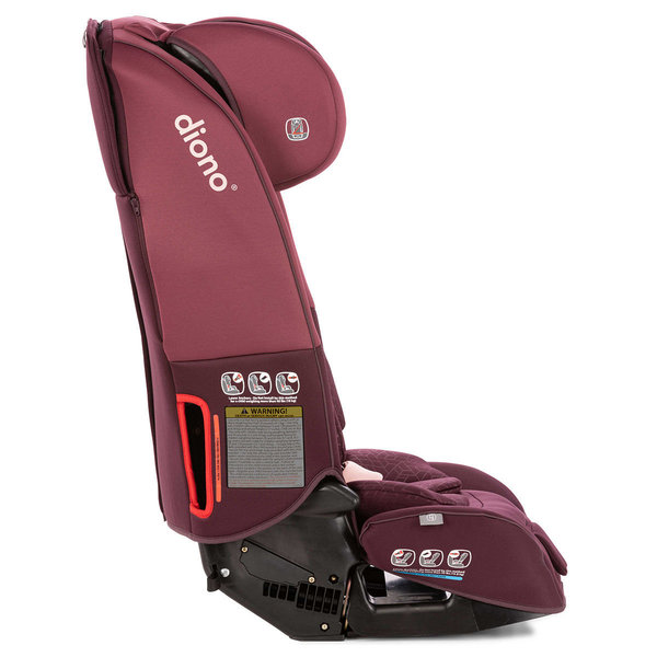 View larger image of Diono Radian 3 RXT Convertible Car Seat - Plum